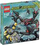 Схемы и инструкции LEGO Aquazone - Lobster Strike (Атака лобстера) - Lego Aquazone 7772
