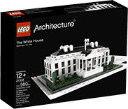 Схемы и инструкции LEGO Architecture - The White House (Белый дом) - Lego Architecture 21006
