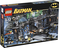 Схемы и инструкции LEGO Batman - The Batcave: The Penguin and Mr. Freeze's Invasion  (Пингвин и мистер Фриз) - Lego Batman 7783