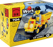 Схемы и инструкции Brick - Tip Lorry (Грузовик) - Brick 704