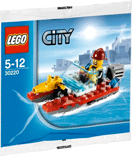 Схемы и инструкции LEGO City - Fire Speedboat (Пожарный Катер) - Lego City 30220