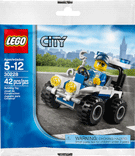 Схемы и инструкции LEGO City - Police ATV (Полицейский квадроцикл) - Lego City 30228