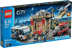 Схемы и инструкции LEGO City - Museum Break-In (Ограбление музея)  - Lego City 60008