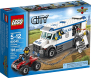 Схемы и инструкции LEGO City - Prisoner Transport (Автомобиль для перевозки заключенных) - Lego City 60043