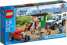 Схемы и инструкции LEGO City - Police Dog Unit (Полицейский отряд с собакой) - Lego City 60048