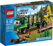 Схемы и инструкции LEGO City - Logging truck (Лесовоз) - Lego City 60059
