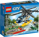 Схемы и инструкции LEGO City - Helicopter Pursuit (Погоня на полицейском вертолете) - Lego City 7236