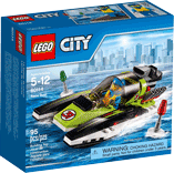 Схемы и инструкции LEGO City - Race Boat (Гоночный катер) - Lego City 60114