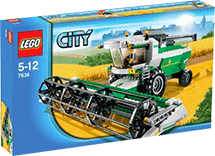 Схемы и инструкции LEGO City - Combine Harvester (Комбайн) - Lego City 7636