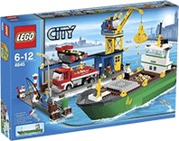 Схемы и инструкции LEGO City - Harbour (Гавань) - Lego City 4645