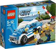 Схемы и инструкции LEGO City - Patrol Car (Патрульная машина) - Lego City 4436