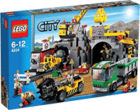Схемы и инструкции LEGO City - The Mine (Шахта) - Lego City 4204