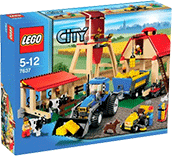 Схемы и инструкции LEGO City - Farm (Ферма) - Lego City 7637