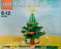 Схемы и инструкции LEGO Creator - Christmas Tree (Рождественская елка) - Lego Creator 30186
