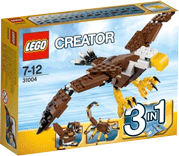 Схемы и инструкции LEGO Creator - Fierce Flyer (Кондор) - Lego Creator 31004