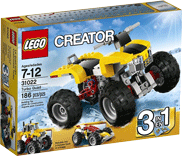 Схемы и инструкции LEGO Creator - Turbo Quad (Квадроцикл) - Lego Creator 31022