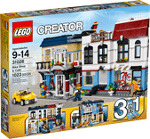 Схемы и инструкции LEGO Creator - Bike Shop & Café (Веломагазин и кафе) - Lego Creator 31026