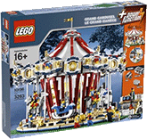 Схемы и инструкции Lego Creator - Exclusive - Grand Carousel (Большая карусель) - Lego 10196
