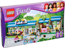 Схемы и инструкции LEGO Friends - Heartlake Vet (Клиника для животных) - LEGO Friends 3188