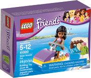 Схемы и инструкции LEGO Friends - Water Scooter Fun (Водный мотоцикл Эммы) - Lego Friends 41000