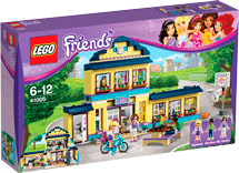 Схемы и инструкции LEGO Friends - Heartlake High (Школа Хартлейк Сити) - LEGO Friends 41005