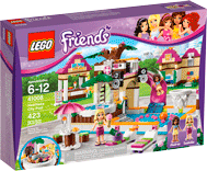 Схемы и инструкции LEGO Friends - Heartlake City Pool (Городской бассейн) - LEGO Friends 41008