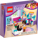 Схемы и инструкции LEGO Friends - Andrea's Bedroom (Спальня Андреа) - LEGO Friends 41009