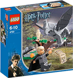 Схемы и инструкции LEGO Harry Potter - Draco's Encounter with Buckbeak (Драко и Клювокрыл) - Lego Castle 4750