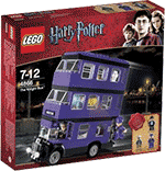 Схемы и инструкции LEGO Harry Potter - The Knight Bus (Ночной рыцарь) - Lego Castle 4866