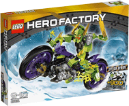 Схемы и инструкции LEGO Hero Factory - Speeda Demon (Демон Байкер) - Lego Hero Factory 6231