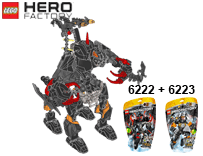 Схемы и инструкции LEGO Hero Factory - Combi 6222 + 6223 (Core Hunter + Bulk) - Lego Hero Factory 6222 6223