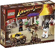 Схемы и инструкции LEGO Indiana Jones - Ambush In Cairo (Засада в Каире) - Lego 7195