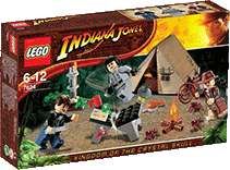 Схемы и инструкции LEGO Indiana Jones - Jungle Duel (Дуэль в джунглях) - Lego 7624