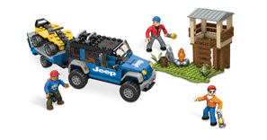 Схемы и инструкции MEGABLOKS American Builders - Forest Expedition (Лесная экспедиция) - MEGABLOKS Jeep 97834