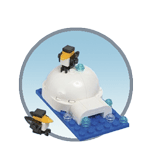 Схемы и инструкции LEGO Monthly Mini Build - Igloo (Иглу) - LEGO Mini Build 40061