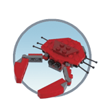Схемы и инструкции LEGO Monthly Mini Build - Crab (Краб) - LEGO Mini Build 40067
