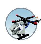 Схемы и инструкции LEGO Monthly Mini Build - Helicopter (Вертолет) - LEGO Mini Build 40094