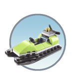 Схемы и инструкции LEGO Monthly Mini Build - Jet-Ski (Гидроцикл) - LEGO Mini Build 40099