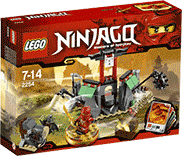 Схемы и инструкции LEGO NinjaGo - Mountain Shrine (Горный склеп) - Lego NinjaGo 2254