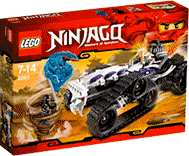 Схемы и инструкции LEGO NinjaGo - Turbo-Shredder (Турбо Шредер) - Lego NinjaGo 2263