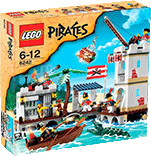 Схемы и инструкции Lego Pirates - Soldiers Fort (Солдатский форт) - Lego 6242