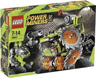 Схемы и инструкции LEGO Power Miners - Rock Wrecker (Камнедробилка) - Lego 8963