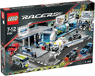 Схемы и инструкции LEGO Racers - Brick Street Customs (Уличные гонки) - Lego Racers 8154