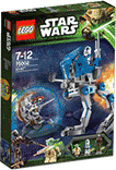 Схемы и инструкции LEGO Star Wars - AT-RT (АТ-РТ) - Lego Star Wars 75002