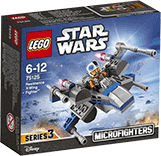 Схемы и инструкции LEGO Star Wars - Resistance X-wing Fighter  (Истребитель Повстанцев)- Lego Star Wars 75125