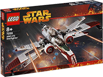 Схемы и инструкции Lego Star Wars - ARC-170 Starfighter (Истребитель ARC-170) - Lego 7259