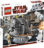 Схемы и инструкции Lego Star Wars - Corporate Alliance Tank Droid (Танк-дроид Сепаратистов) - Lego 7748