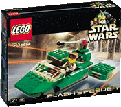 Схемы и инструкции Lego Star Wars - Flash Speeder (Флэш Спидер) - Lego 7124
