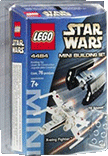 Схемы и инструкции Lego Star Wars - Mini X-wing Fighter & TIE Advanced (Истребители X-wing и TIE) - Lego 4484