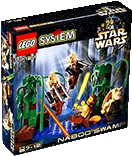 Схемы и инструкции Lego Star Wars - Naboo Swamp (Болото Набу) - Lego 7121